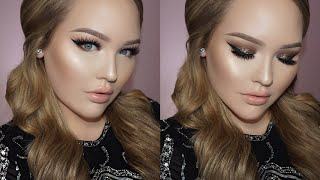 NICKI MINAJ Inspired Bold Winged Liner & Glitter Makeup