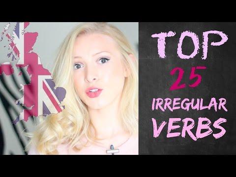 PERFECT the TOP 25 IRREGULAR VERBS | British English Pronunciation
