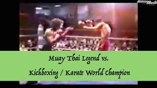 Kickboxing & Karate World Champion vs. Muay Thai Legend | Lawrence Kenshin