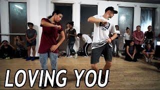 LOVING YOU - Trey Songz Dance Video | @MattSteffanina Choreography (Int/Adv)