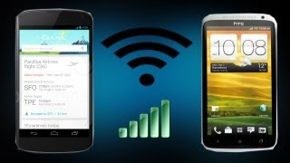 Share Files using WiFi Direct on Android