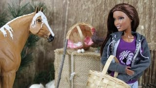 How to Make a Doll Size Bale of Hay