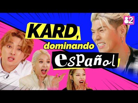 KARD domina el español   Guess the Spanish Words