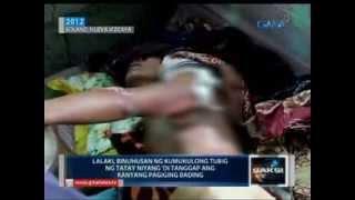 Saksi: Babaeng inakalang bading, binugbog ng lalaking umaming lasing