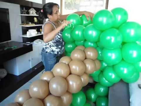 Arvore de balão arbol del globo