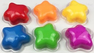 Learn Colors and Numbers with Gak Clay Slime Play Doh Smiley Face Surprise Toys Fun For Kids Rhymes