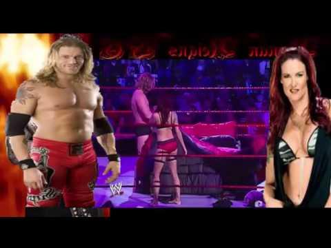 WWE edge ve lita ringin ortasında sex