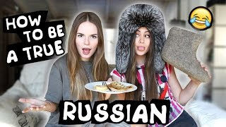 How To Become a Real Russian w/ Sasha Spilberg