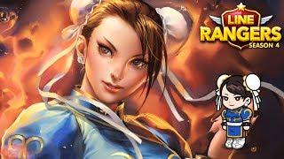 LINE Rangers | รีวิวน้องชุนหลี STREET FIGHTER!