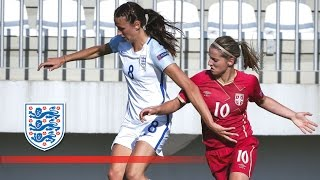 Serbia Women 0-7 England Women (Euro 2017 Qualifying) | Goals & Highlights