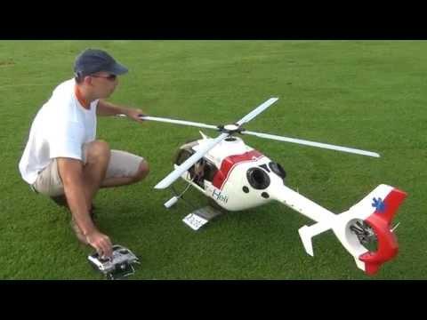 Vario EC 135 PHT 3 Startup and flight