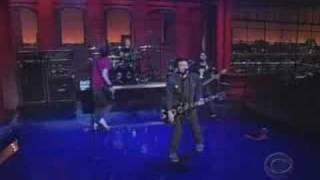 Sum 41 still waiting live on Letterman