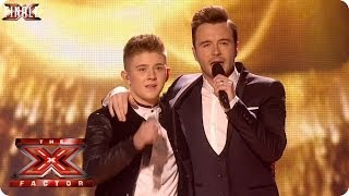 Nicholas McDonald sings Flying Without Wings with Shane Filan - Live Week 10 - The X Factor 2013