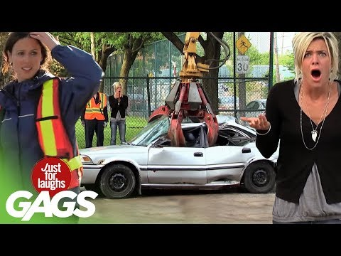 Crazy Car Pranks Best Of Just For Laughs Gags