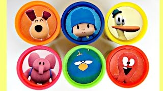 "Best Learn Colors LET""S GO POCOYO! Play-doh Toy Surprises, Nursery Rhyme, Elly, Pato Friends TUYC"