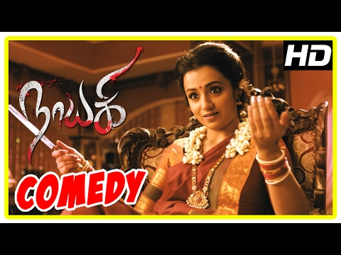 Nayaki Tamil Movie   Comedy Scenes   Trisha   Satyam Rajesh   Sushma Raj   Sendrayan   Manobala