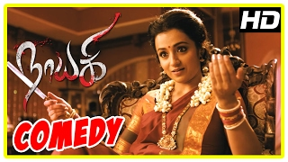 Nayaki Tamil Movie | Comedy Scenes | Trisha | Satyam Rajesh | Sushma Raj | Sendrayan | Manobala