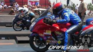 Pro Street 200mph No Wheelie Bar Drag Bikes!