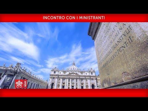 Xxx Mp4 Papa Francesco Incontro Con I Ministranti 2018 07 31 3gp Sex