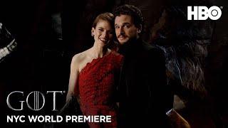 Final Season World Premiere - Glamstone | Game of Thrones | HBO