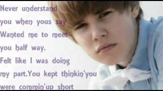 Justin Bieber & Jessica Jarrell-Overboard with lyrics