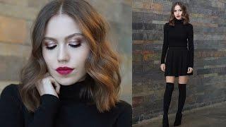 Benimle Hazırlanın | Saç,Makyaj | Evde Yılbaşı Kutlaması