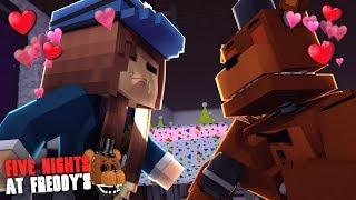 Minecraft: FIVE NIGHTS AT FREDDY'S #97 - FREDDY BEIJOU A VIGIA!!!