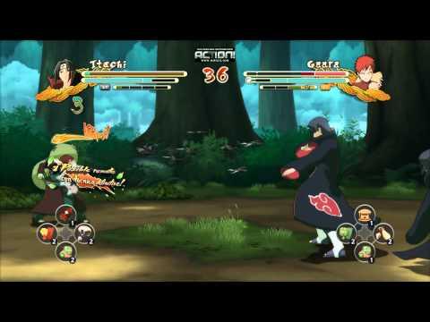 Naruto Shippuden Ultimate Ninja Storm 3 Full Burst Itachi Vs Gaara