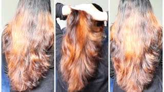 How To Do Layer Cut At Home with tips and suggestions| घर पर लेयर कट कैसे करे ?