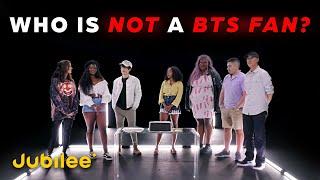 6 BTS Fans vs 1 Secret Hater