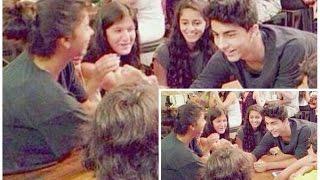 SRK's Kids Aryan Khan & Suhana Khan's CUTE FIGHT Captured On Camera!
