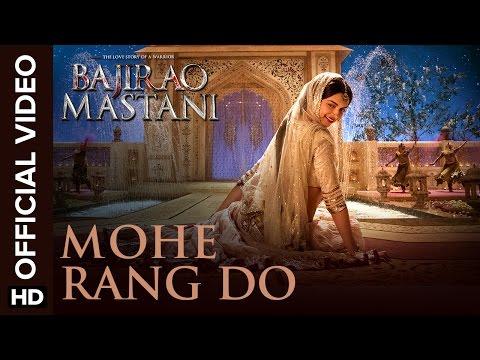 Mohe Rang Do Laal   Song  Bajirao Mastani  Ranveer Singh & Deepika Padukone