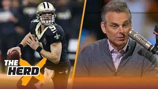 Colin Cowherd reacts to Drew Brees and Cam Newton