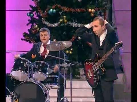 КВН Медведев и Пути� лабают рок