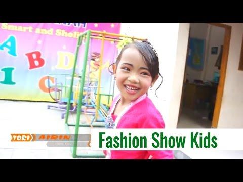 Fashion Show Kids Anak anak Paud TK Lucu - Hari Kartini - Tori Airin