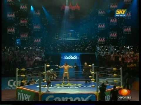 AAA El Mesías vs. Dr. Wagner Jr. 2009 06 13 AAA Heavyweight