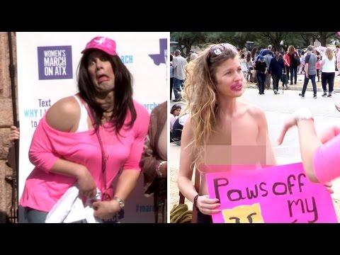 Xxx Mp4 Women S March Crashed By Crowder IN DRAG Featuring Wendy Davis 3gp Sex