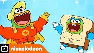 Breadwinners | Hero Ducks | Nickelodeon UK