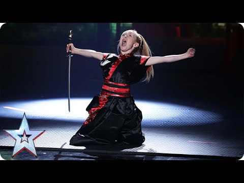 Can Jesse-Jane McParland eliminate the competition? | Semi-Final 5 | Britain's Got Talent 2015