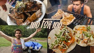 How to Cook for 100 People with $100