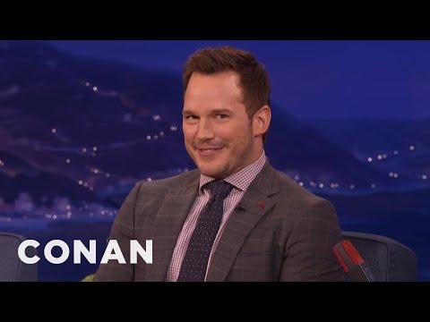 watch Chris Pratt's Filthy German Joke  - CONAN on TBS