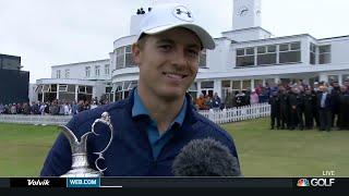 Jordan Spieth on Open win, bizarre 13th hole