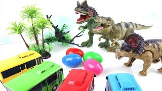 Dinosaurs Battle! Angry Dinosaurs Steal The Eggs!! Fun Dinosaurs Toy Movie for Kids. 공룡 고고다이노