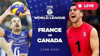 France v Canada - Group 1: 2017 FIVB Volleyball World League