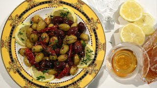 Spiced Olives Recipe - Heghineh Cooking Show