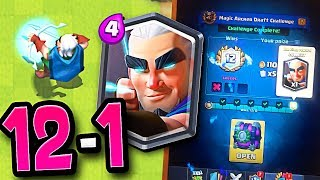 WIN THE MAGIC ARCHER! Clash Royale Magic Archer Challenge