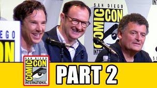 SHERLOCK Comic Con 2016 Panel Highlights (Pt2) - Benedict Cumberbatch, Mark Gatiss, Amanda Abbington