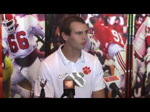 TigerNet Hunter Renfrow is athletic and funny