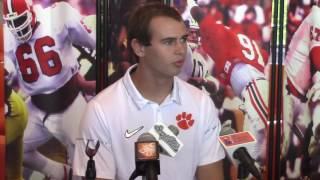 TigerNet.com - Hunter Renfrow is athletic and funny