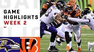 Ravens vs. Bengals Week 2 Highlights   NFL 2018